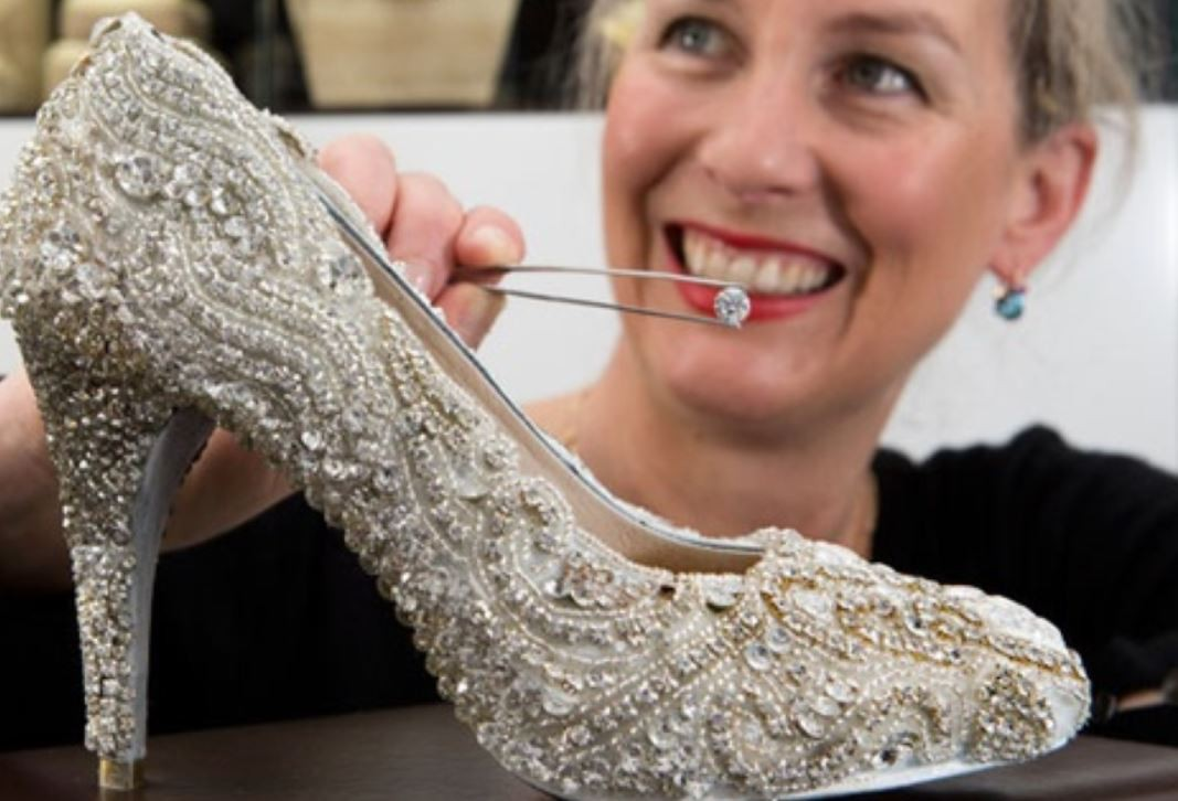 Diamond Shoe by Kathryn Wilson