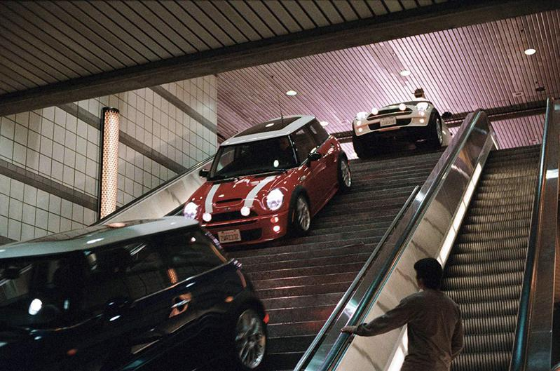 "A trio of tricked-out BMW Mini Coopers steals the show in 2003's ""The Italian Job,"" a remake of the 1969 British movie of the same name."