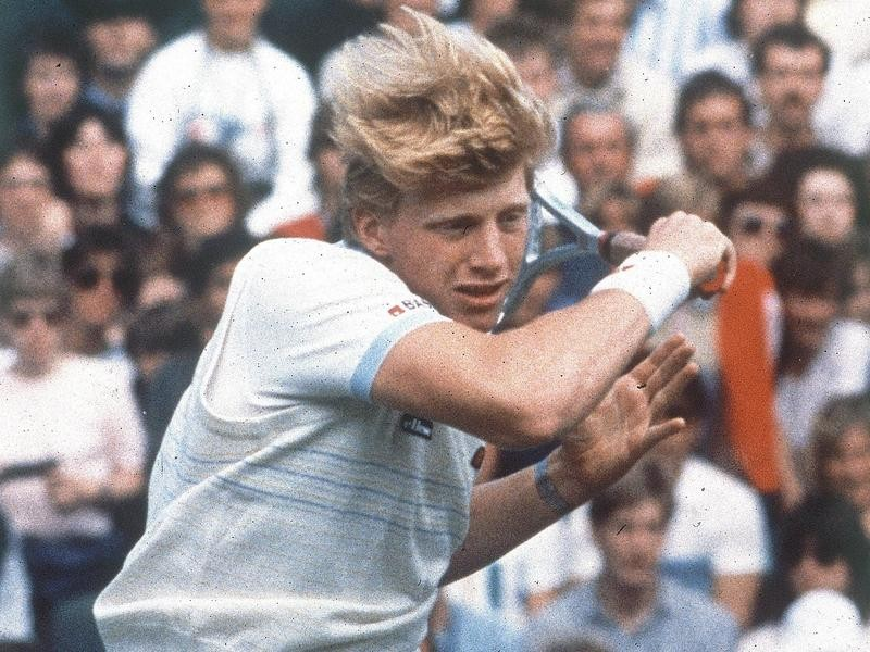 German tennis player Boris Becker