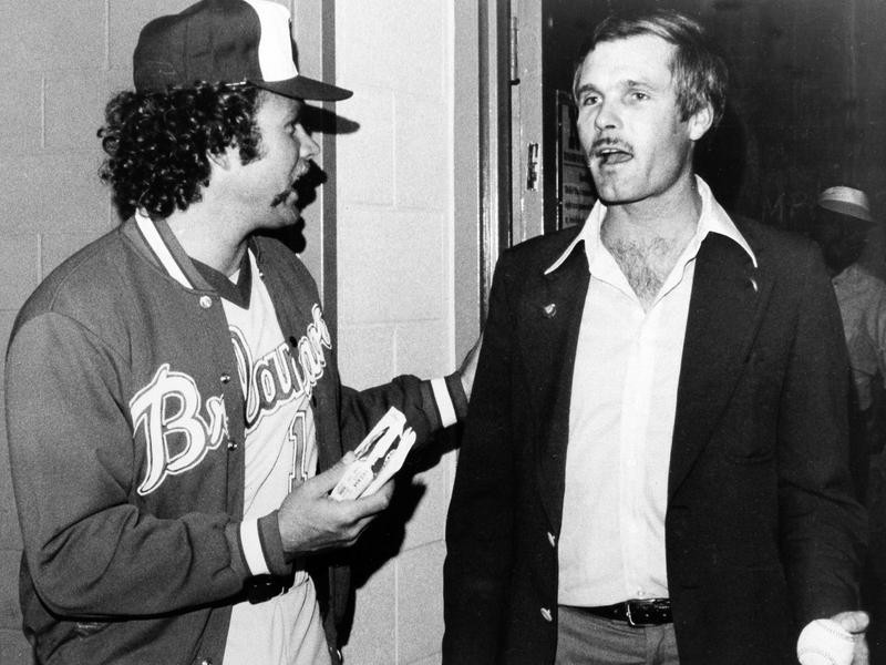 Andy Messersmith and Ted Turner
