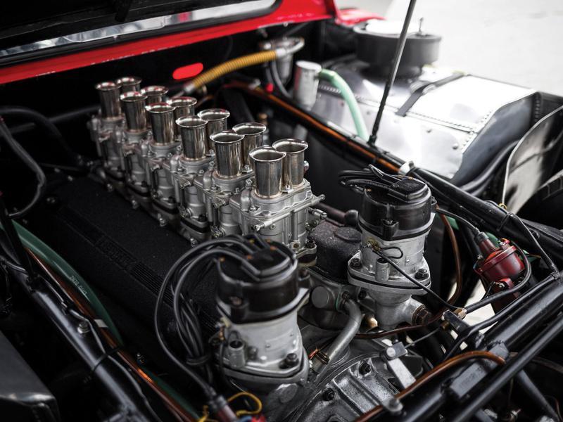 1964 Ferrari 250 LM engine