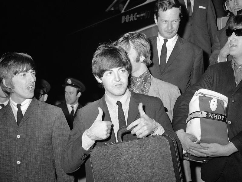 McCartney and Brian Epstein