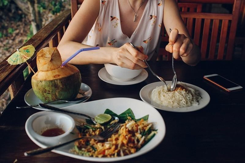 meal in thailand