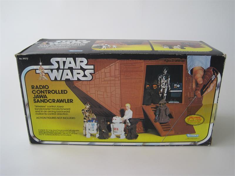 Radio Controlled Jawa Sandcrawler (1978)