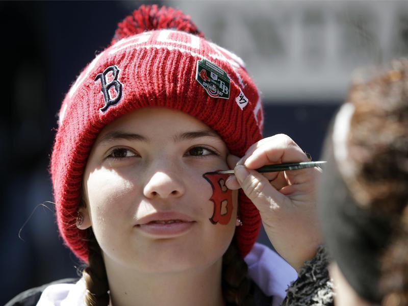 Boston sports fan
