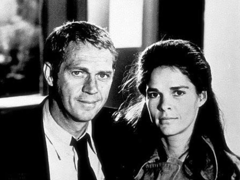 Steve McQueen & Ali MacGraw in The Getaway