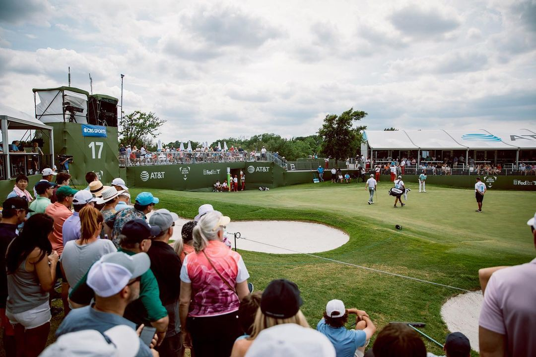 Scenery at AT&T Byron Nelson