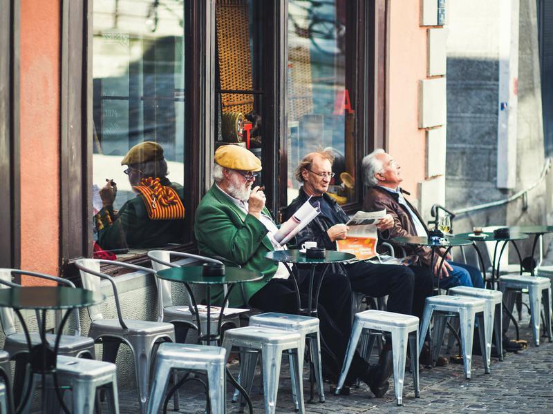 Zurich cafe