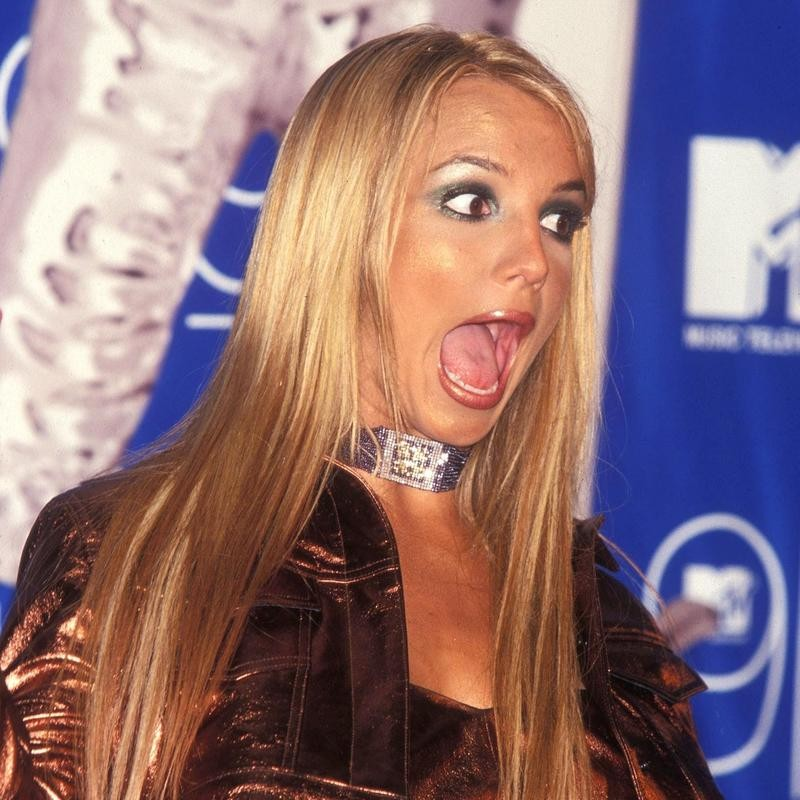 Britney Spears at the MTV Music Video Awards