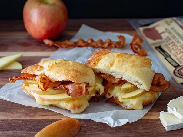 BABP (Bacon, Apple & Brie Panini)