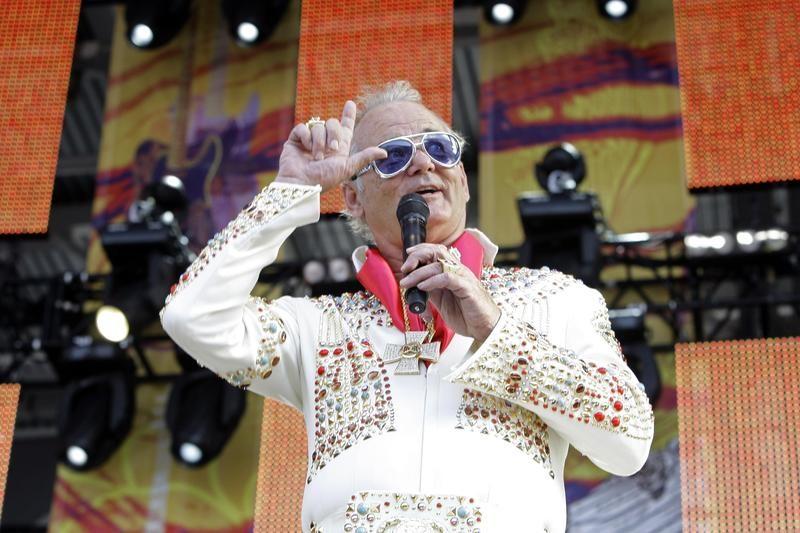 Bill Murray as Elvis at Crossroads Guitar Festival