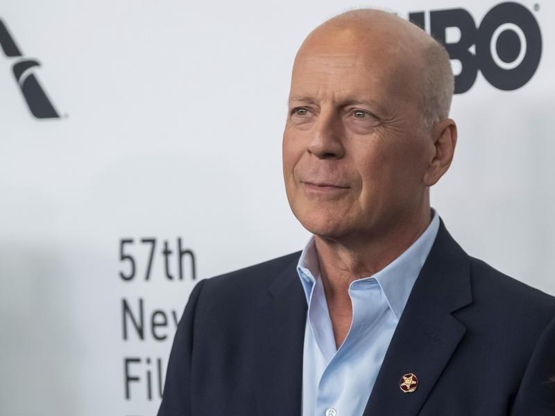 Bruce Willis in 2019