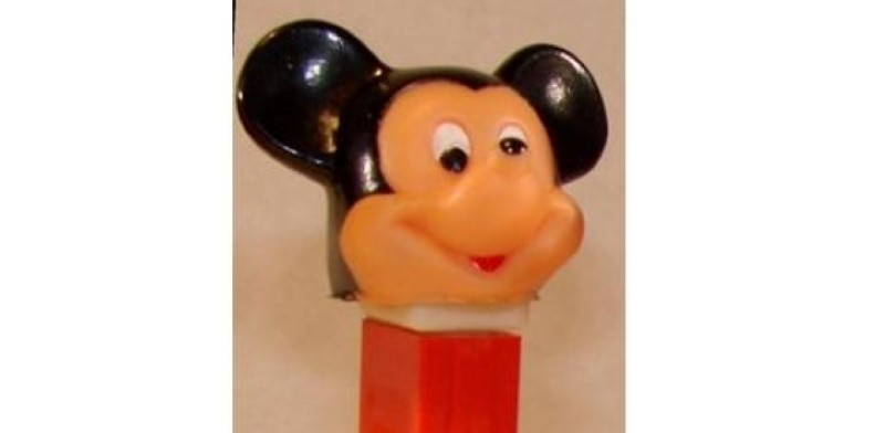 Mickey Mouse Soft Head Pez dispenser