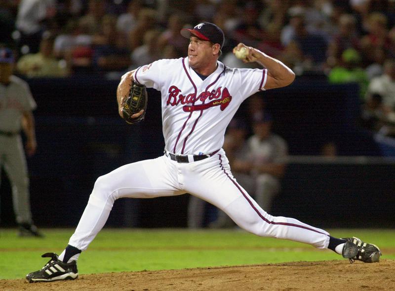 Atlanta Braves' John Rocker throws pitch