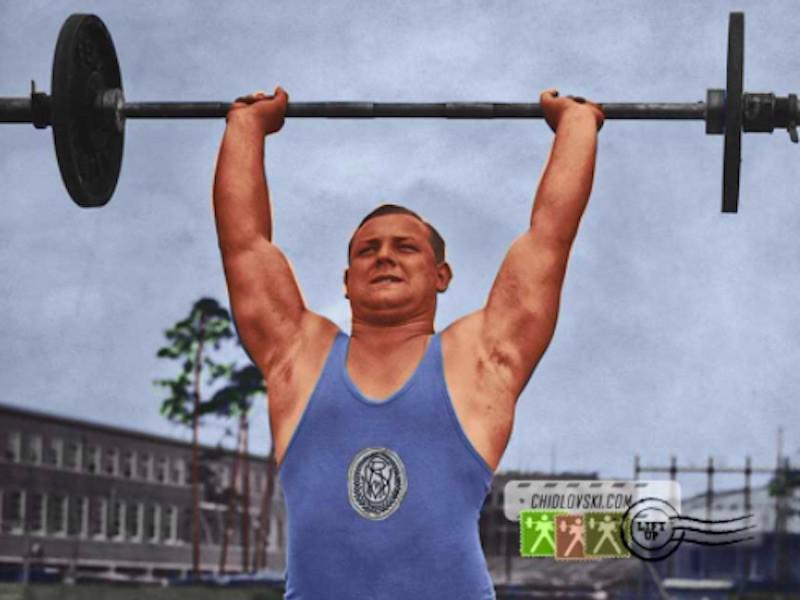 Josef Manger, Olympic weightlifter