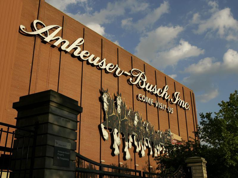 Anheuser-Busch brewery in St. Louis