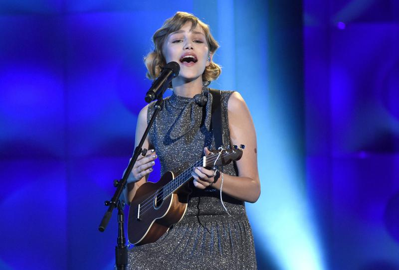 Grace VanderWaal performs at the Billboard Women in Music event in Los Angeles in 2017.