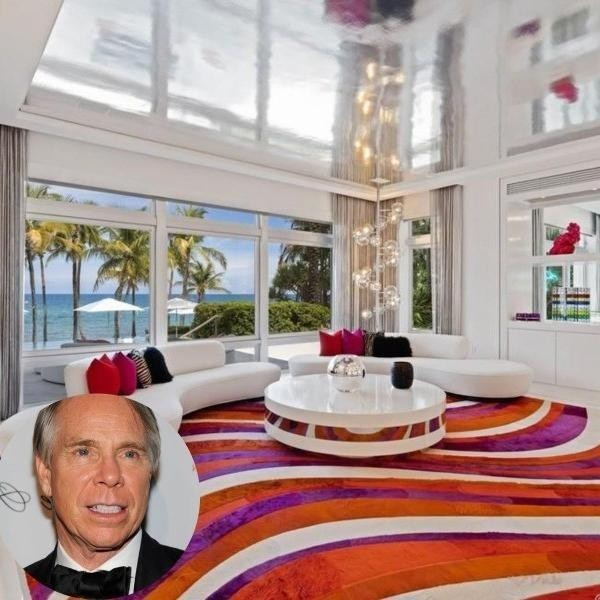 Groovy, Baby! Tommy Hilfiger's Wild Miami Mansion