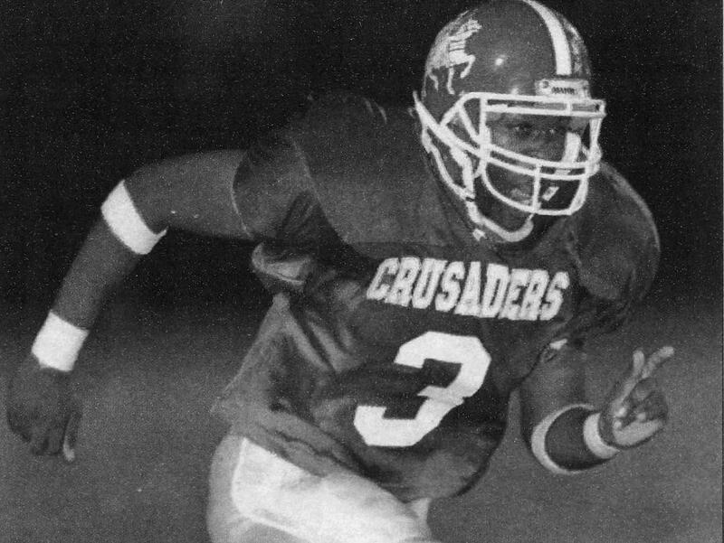 Tampa Catholic wide receiver Darrell Jackson