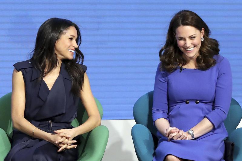 Meghan and Kate