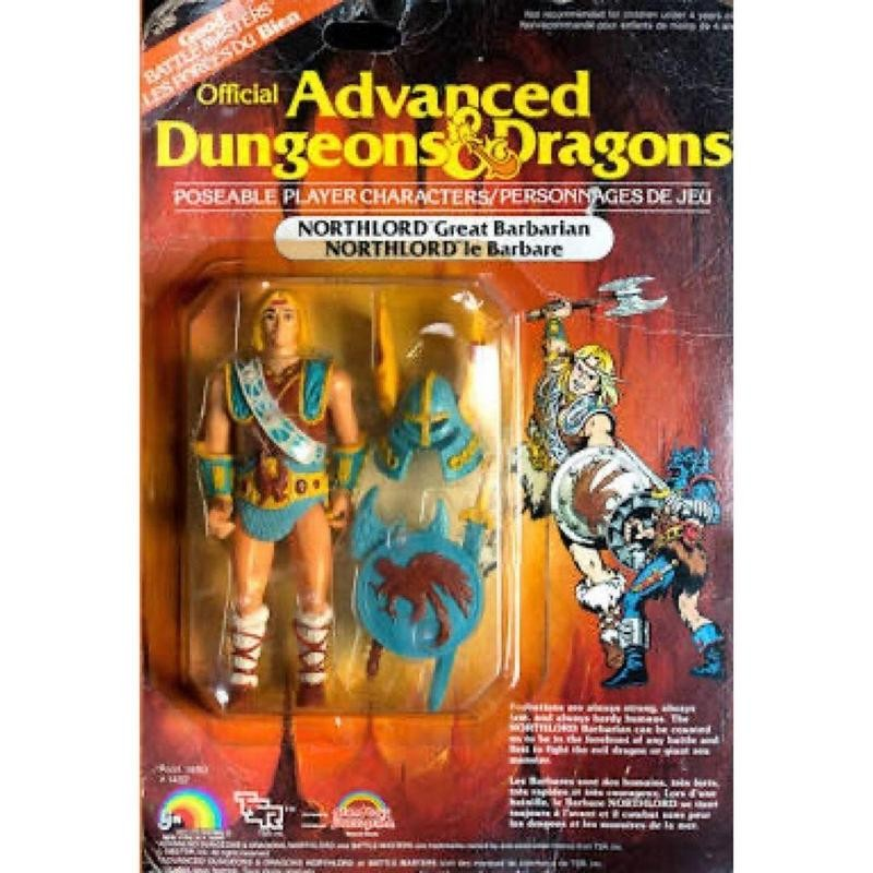 Dungeons and Dragons action figure