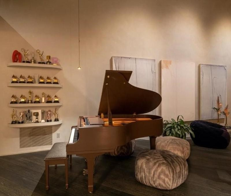 John Legend's piano