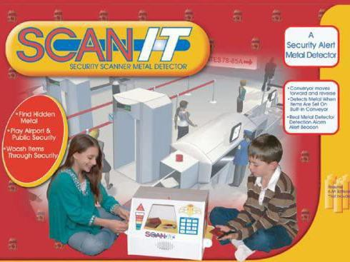 Scan-It Operation Checkpoint XRay Toy Set