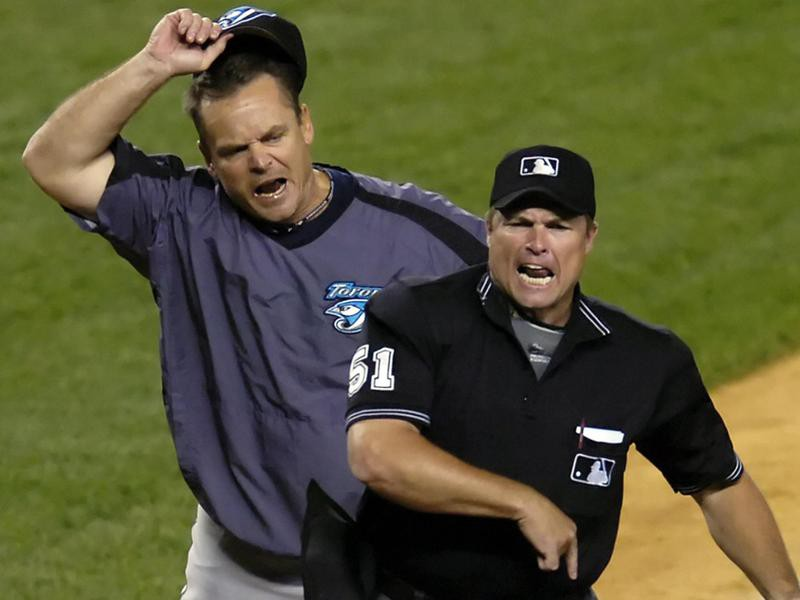 Toronto Blue Jays manager John Gibbons ejected from game