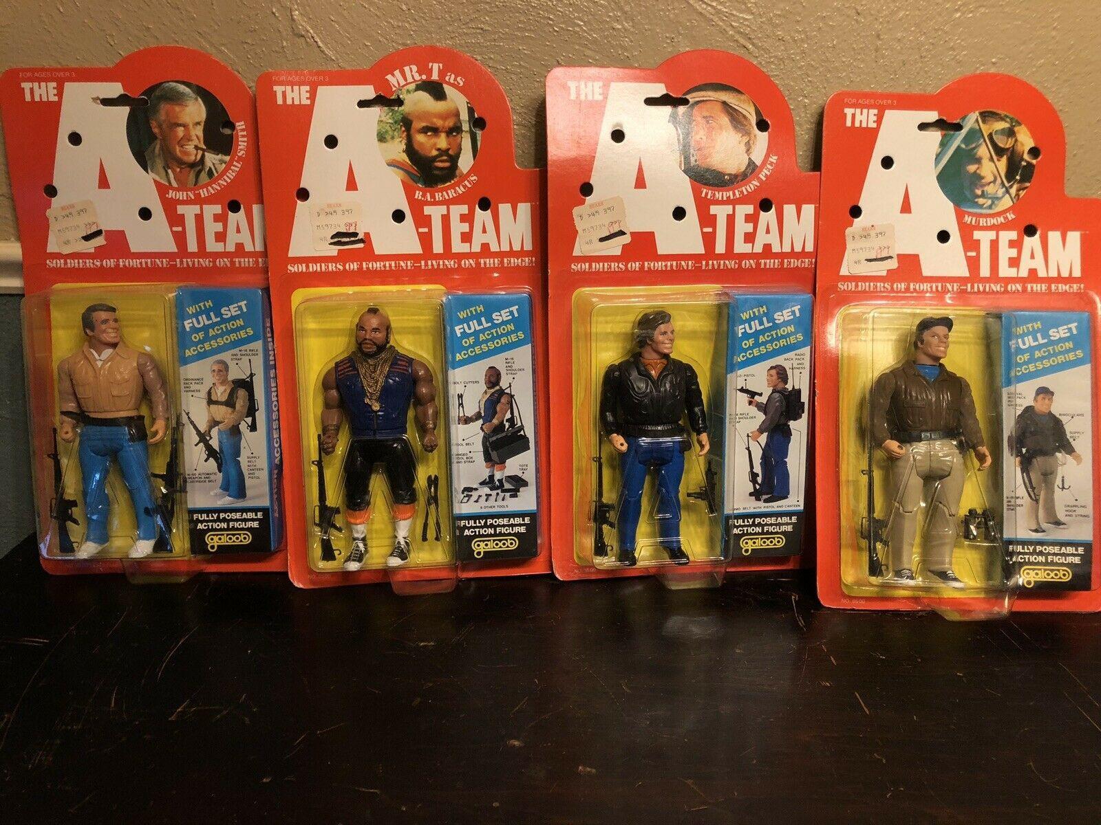 "The A-Team 6"" Figures"