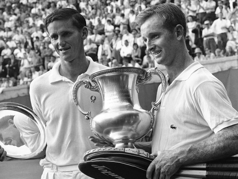 Roy Emerson and Rod Laver