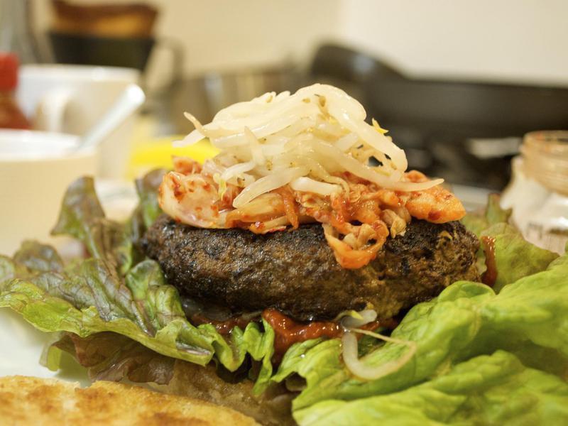 Burger Topping Ideas: Kimchi