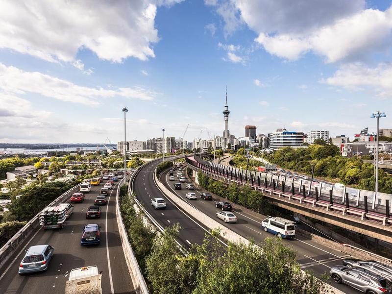 Highways in Auckland, New Zealand
