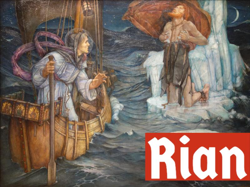 Rian is a cool Irish name