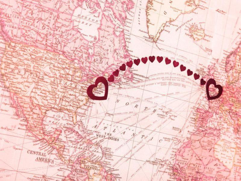 Long Distance Relationship London UK New York USA