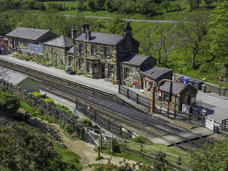 Goathland railway station, Yorkshire, UK