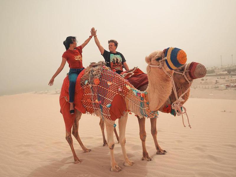 Qatar desert Mesaieed