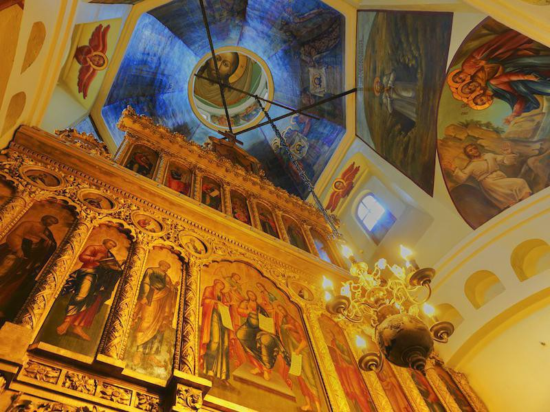 St. Basil's Cathedral interior