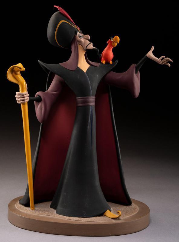 Aladdin Jafar and Iago Maquett