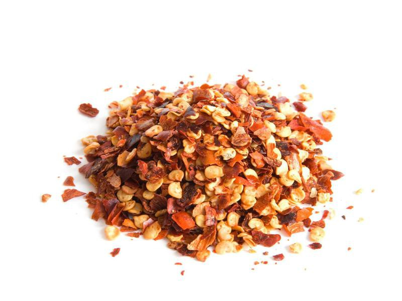 Burger Topping Ideas: Pepper Flakes