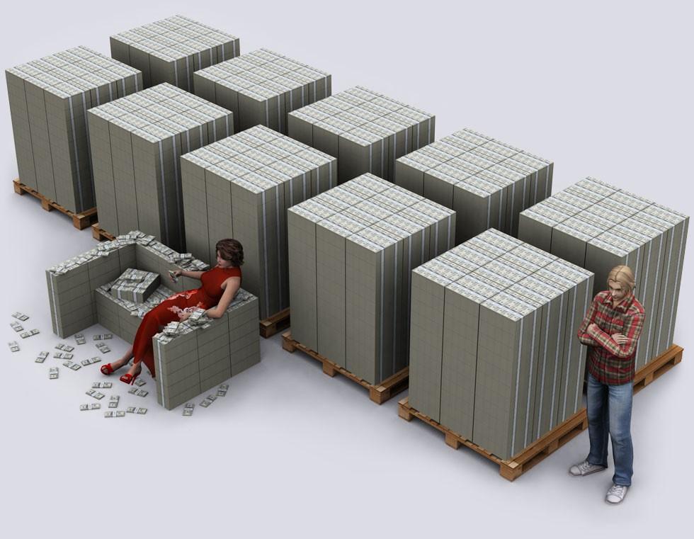 $1 billion visualized