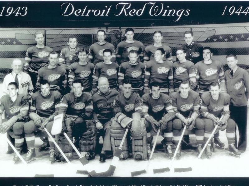 1943 Detroit Red Wings