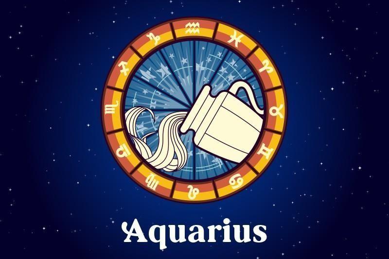 AQUARIUS: The Water-Bearer (Jan. 20-Feb. 18)