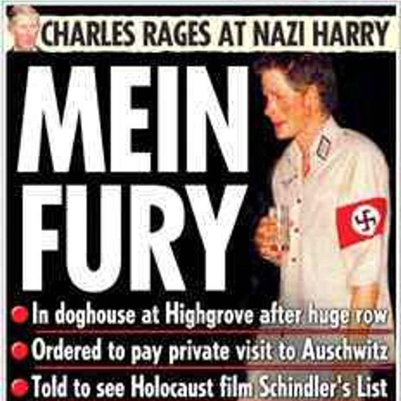 Prince Harry's Nazi Costume