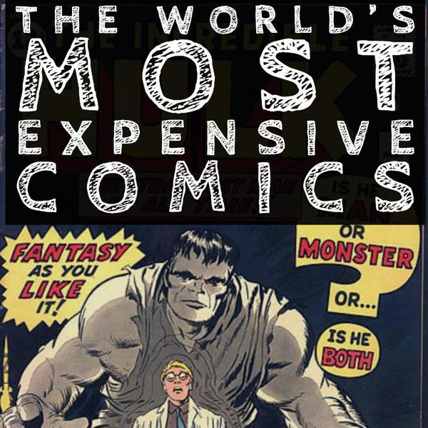 The World's Most Expensive Comic Books
