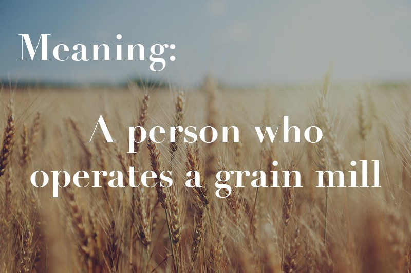 operates a grain mill
