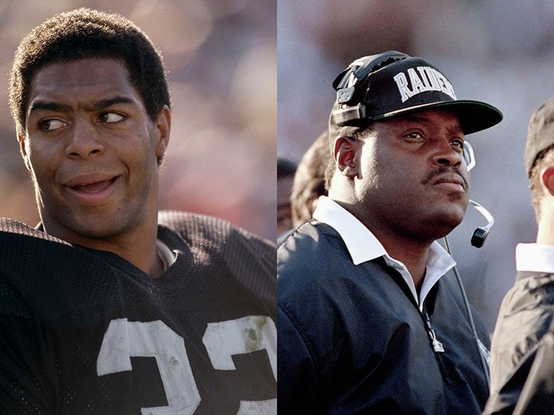 Marcus Allen and Art Shell