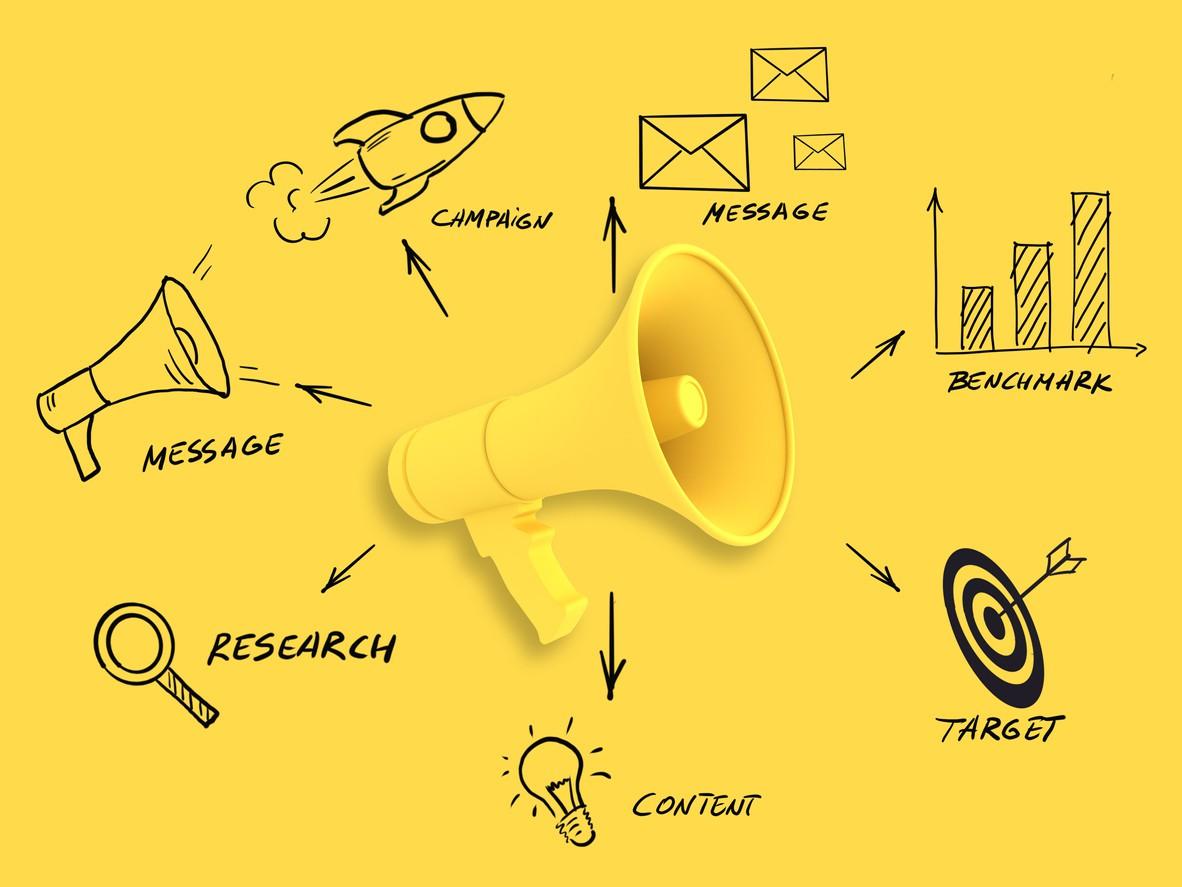 Marketing campaign graphic