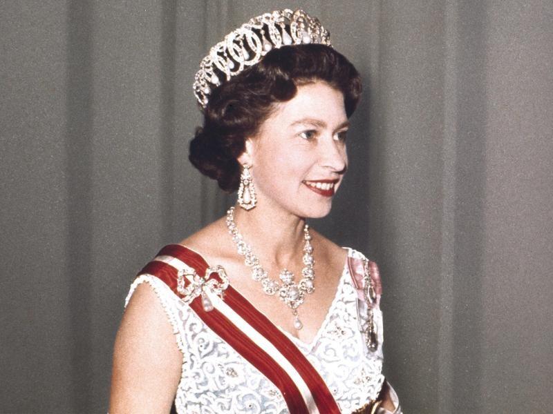 Queen Elizabeth in the Vladimir Tiara