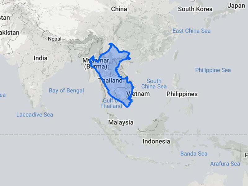 Peru compared to Southeast Asia
