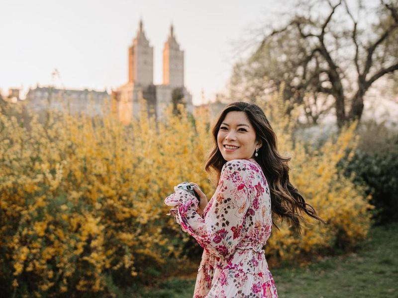 Spring time in Central Park, New York